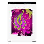 PixDezines peacock abstract/DIY background iPad 2 Decal