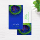 PixDezines Peacock eye/cobalt+emerald Business Card