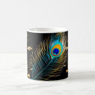 PixDezines peacock feather Coffee Mug