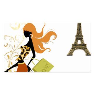 PixDezines personal shopper/diy background color Business Card