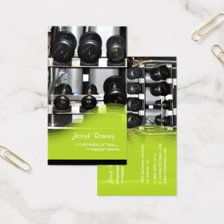 PixDezines Personal Trainer/Coach/Gym Business Card
