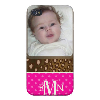 PixDezines Photo template, Monogram available Covers For iPhone 4