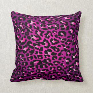 PixDezines pink cheetah diy background colors Pillow