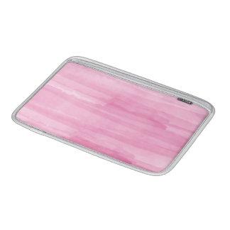 PixDezines pink digital watercolor affects MacBook Air Sleeve