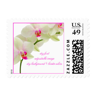 PixDezines pink kona orchids/diy event+colors Postage