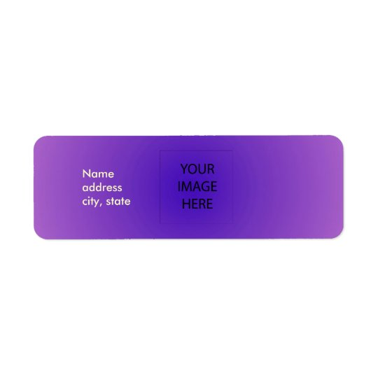 PixDezines Plain Lavender Easy Template Label