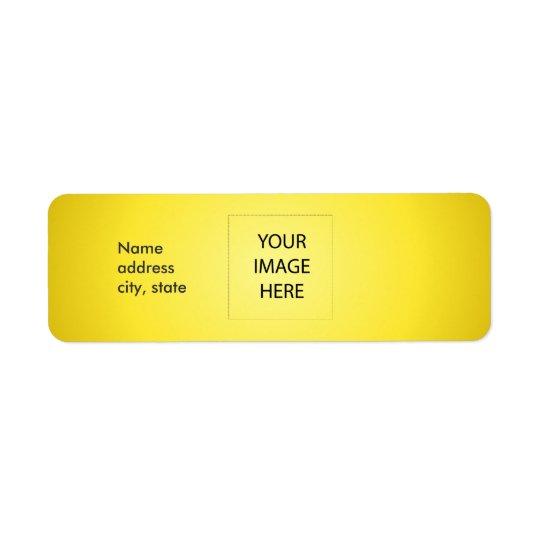PixDezines Plain Lemon Easy Template Label