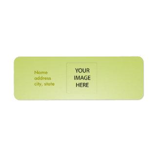 PixDezines Plain Lime Easy Template Label