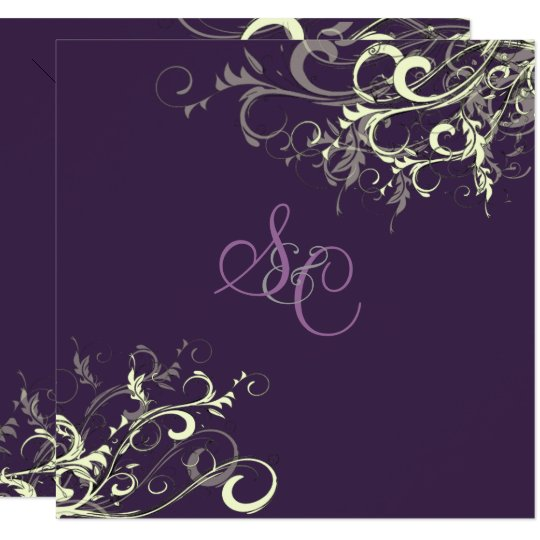 PixDezines PLUM/CREAM SWIRLS/DIY Background Card
