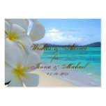 PixDezines Plumeria Leis Wishes + Advice Cards Large Business Cards (Pack Of 100)