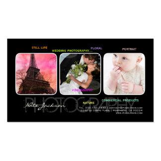 PixDezines portfolio template DIY fonts Business Card