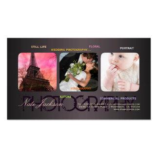 PixDezines portfolio template DIY fonts Business Cards
