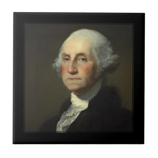 PixDezines President George Washington Ceramic Tiles