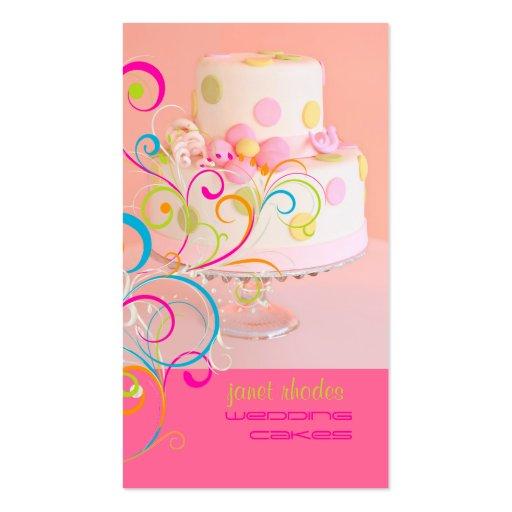 Cupcake business card templates ne14 design custom cakes and eat cake business card templates page bizcardstudio cake business cards templates free reheart Choice Image