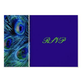 PixDezines psychedelic peacock/cobalt blue Invite