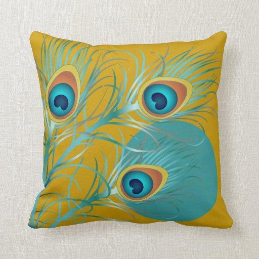 Diy Quote Throw Pillow : PixDezines psychedelic peacock/diy background Throw Pillow Zazzle