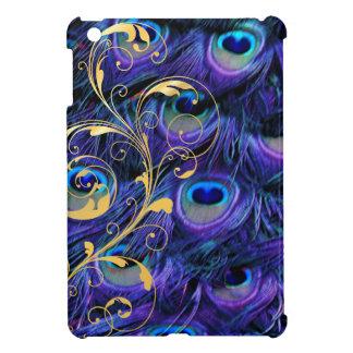 PixDezines psychedelic peacock+filigree swirls iPad Mini Case