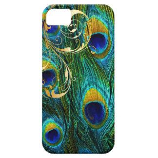 PixDezines Psychedelic Peacock+filigree swirls iPhone SE/5/5s Case