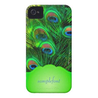 PixDezines psychedelic peacock iPhone 4 Covers