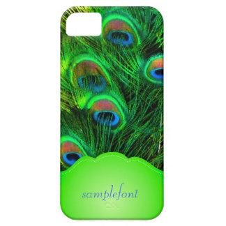 PixDezines psychedelic peacock iPhone SE/5/5s Case
