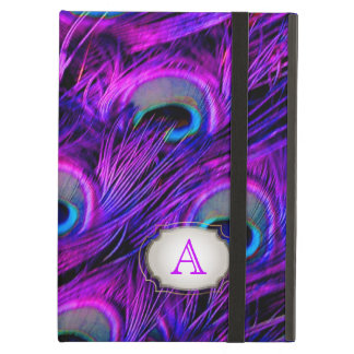 PixDezines psychedelic peacock/removable label iPad Air Case
