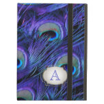 PixDezines psychedelic peacock/removable label iPad Case