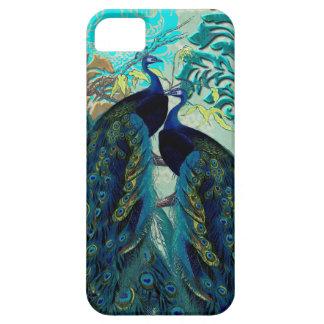 PixDezines Psychedelic Peacocks+Damask iPhone SE/5/5s Case