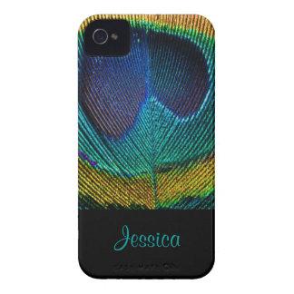 PixDezines Psychedellic Peacock/DIY iPhone 4 Case