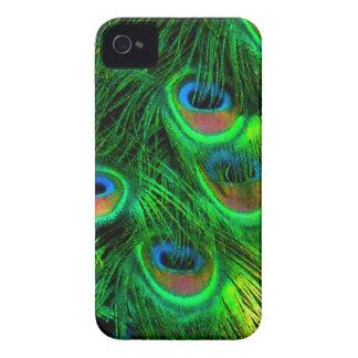 PixDezines Psychedellic Peacock iPhone 4 Case-Mate Case