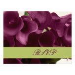 PixDezines purple calla lilies/diy Invites