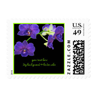 PixDezines purple orchid/diy background+fonts Postage