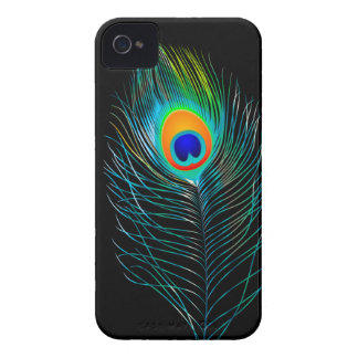 PixDezines pzazz peacock plume+filigree swirls iPhone 4 Cover