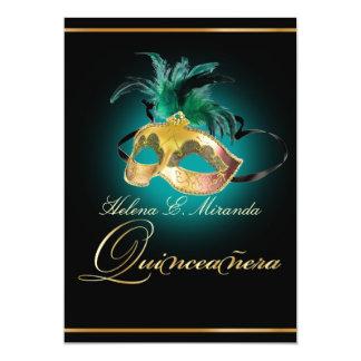 PixDezines Quincenera/teal/DIY color!! Card