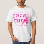 PixDezines Race for the Cure, Pink Ribbon T-Shirt