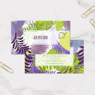 PixDezines rainforest/DIY background color Business Card