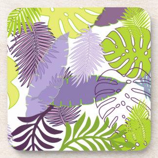 PixDezines rainforest/DIY background color Drink Coaster