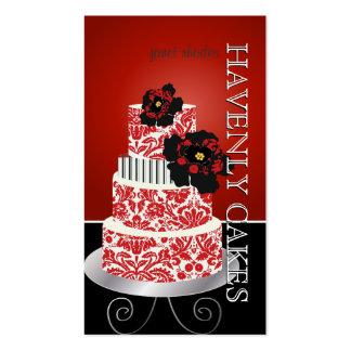 PixDezines red velvet cake /pâtisserie Business Card Templates