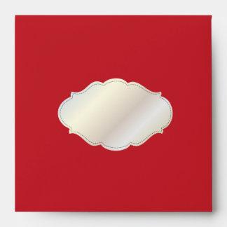PixDezines Red Velvet/DIY color Envelope
