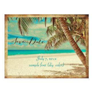 PixDezines reserva la fecha el vintage Hawaii