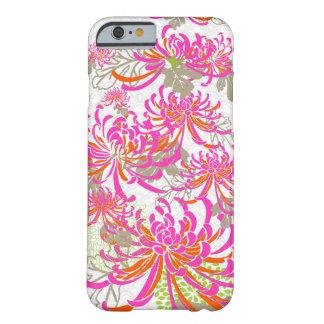 PixDezines retro chrysanthemums/DIY background Barely There iPhone 6 Case