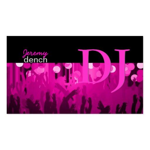 PixDezines Retro DJ+dance hall Business Card Template