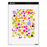 PixDezines retro dots/diy background Skin For iPad 2