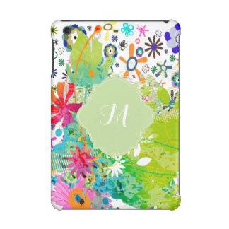 PixDezines retro flora diy background color iPad Mini Retina Case