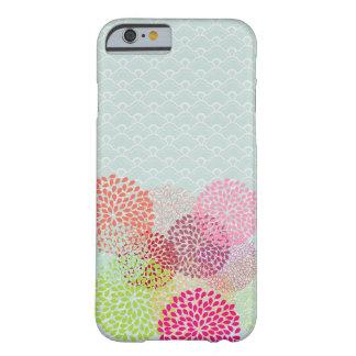 PixDezines retro kiku/DIY background Barely There iPhone 6 Case