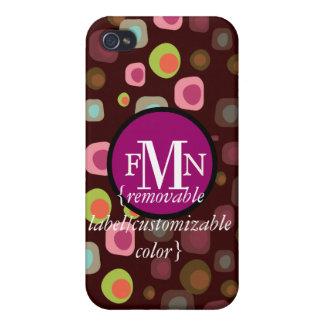 PixDezines Retro Olives, Custom Color ♥♥♥♥ Cover For iPhone 4
