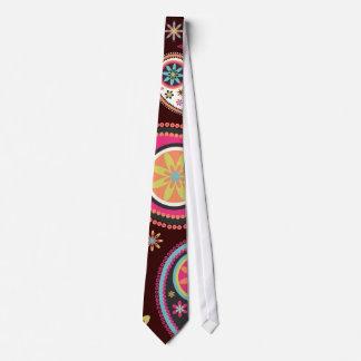 PixDezines Retro Paisley, custom background color! Tie