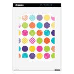 PixDezines retro polka dots/diy background iPad 2 Decal