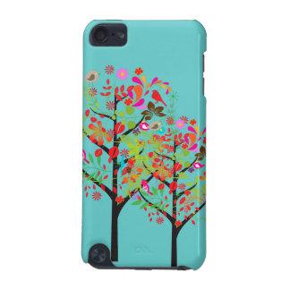 PixDezines Retro Tree/spring/DIY background color iPod Touch (5th Generation) Case