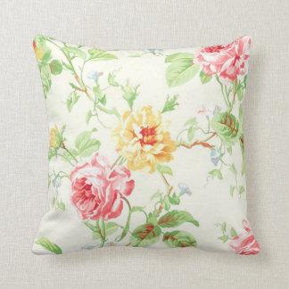 PixDezines rose garden Throw Pillows