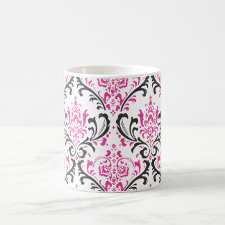 PixDezines Rossi Damask, DIY background color! Mug